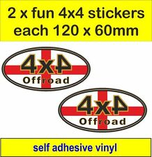 off road 4x4 fun stickers graphic England decals land rover defender discovery