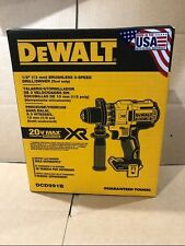 "DEWALT DCD991B 20V 20 Volt Lithium Ion Brushless 1/2"" Drill Driver Brand New"