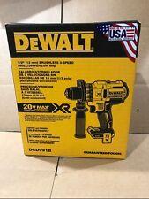 """DEWALT DCD991B 20V 20 Volt Lithium Ion Brushless 1/2"""" Drill Driver Brand New"""
