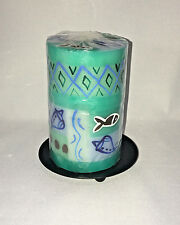 Candles Nobunto Samaki Design - Hand Painted