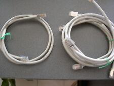 Câble connection RJ45 mâle/mâle gris 8 fils 1,00 m data video cord FTP Ethernet