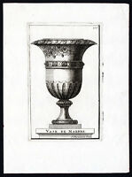 Antique Print-VASE-VINE-GRAPE-Thomassin-1695