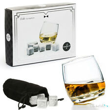 Sagaform Whiskey Drinks Stones - Set of 9 Reusable Ice Cubes In A Gift Box