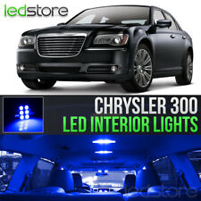 2011-2017 Chrysler 300 Blue LED Lights Interior Kit Package