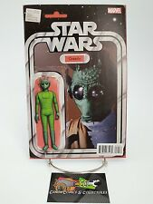 Star Wars #12 Greedo Action Figure Variant Cover Marvel Comics Volume 3 2015