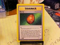 1st Edition Berry Trainer 99/111 - Neo Genesis WoTC Pokemon - Near Mint