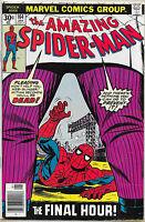 THE AMAZING SPIDER-MAN #164 VF/VF+ BRONZE AGE JANUARY 1977 MARVEL KINGPIN!