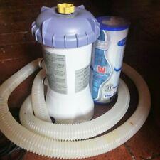 Pompa per piscina Intex modello 604 + 2 filtri Bestway tipo 2 compatibili