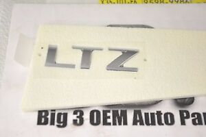 2011-2013 Chevrolet Cruze Deck Lid Trunk LTZ Trim Package Emblem Nameplate OEM