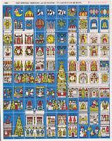 USA 1970  American Lung Association CHRISTMAS SEALS Full Sheet MINT Count 100