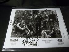"CIMMARON Signed BY ALL 6 MEMBERS AUTOGRAPHED 8X10"" B&W PHOTO COUNTRY MUSIC  BAND"