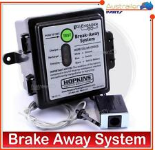 Trailer Brake away system with charger & battery and brake away Switch Caravan