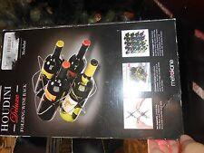 Houdini W2811 Expandable Modular 4 Bottle Wine Rack by Metrokane Nib!