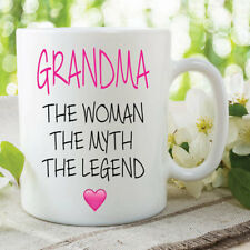 Grandma Mug Woman Myth Legend Gift Coffee Cups Mothers Day Birthday WSDMUG636