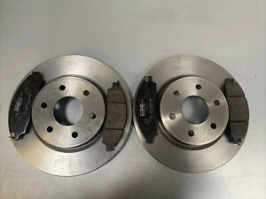 FOR NISSAN NP300 NAVARA 2.3 FRONT DISC (296MM) & PADS GENUINE COMPONENTS