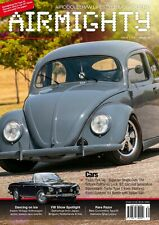AIRMIGHTY MEGASCENE AIR COOLED VW LIFESTYLE MAGAZINE ISSUE #34