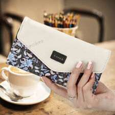 Fashion Women Lady Leather Clutch Wallet Long PU Card Holder Purse Handbag case