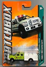 Ford F-550 Super Duty National Park Forest Service Lime Green 2012 MATCHBOX RARE