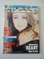 Magazine VIDEO 7 french #138 novembre 1993 cover Emmanuelle Beart