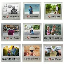 Photo Frame Mum Dad Uncle Auntie Grandma Grandad Sister Brother Birthdays Gifts