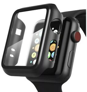 iWatch Apple Watch Series 4 3 2 1 Hybrid Protective Case Full Cover With Screen