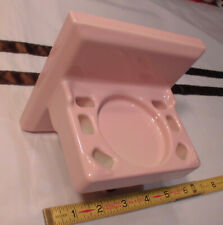 Vintage *Classic Pink*  Ceramic Toothbrush Holder by Fairfacts Co.  High Quality