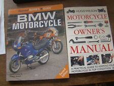 3 BOOKS ON MOTORCYCLES BMW BUYERS GUIDE & MOTORCYCLE OWNERS MANUAL