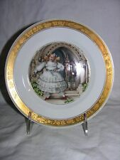 Royal Copenhagen Hans Christian Andersen Fairy Tale Plate 'The Red Shoes'