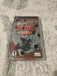 Metal Slug Anthology (Sony PSP, 2007) Complete!! Playstation Portable