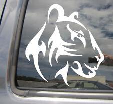 Tribal Female Lion Head - Lioness African Car Window Vinyl Decal Sticker 01560