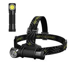 NiteCore HC30 Cree XM-L2 1000lm 18650 Dual Switch Headlight Headlamp Tasklight