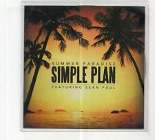 (JD200) Simple Plan, Summer Paradise ft Sean Paul - 2012 DJ CD