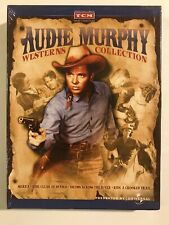 Audie Murphy Westerns Collection  Sierra Ride Clear Diablo Drums NEW DVD 4 Films