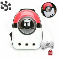 Pokemon Cat Bags for Pet Cats Backpack Window Bag Cat Carrier Capsule Pokeball
