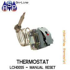 ROBERTSHAW THERMOSTAT LCH-0025  OVERTEMP 235°C MANUAL RESET-SILVER CONTACT