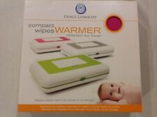Prince Lionheart Compact Wipes Warmer - Perfect for Travel w/ 2 Adapters - Pink