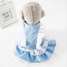 Puppy Vest Clothes Dress Skirt Sweater Apparel Spring Shirt Cute Winter Pet AA