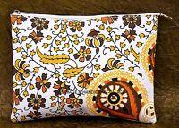 Indian Mandala Design Clutch Ladies Shopping Envelop Wallet Purse Cotton Handbag