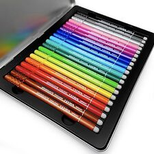 Lyra - Graduate Fineliner Pen - 0.5mm Stroke Width - Metal Tin Of 20 Colours