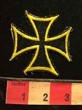 Used Biker Patch Of An IRON CROSS 60C6