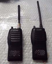 set of 2 Icom IC-F11S Two Way  Radio @An1