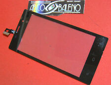 VETRO+TOUCH SCREEN per NGM DYNAMIC STYLO DISPLAY VETRINO COVER RICAMBIO LCD NERO