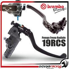 BOMBA DE FRENO DELANTERO RADIAL BREMBO RCS19 RCS 19x20x18 REGULABLE FRENO bomba