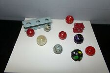 BAKUGAN LOT OF 10 FIGURES WITH 1 BAKUCLIP LOT