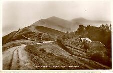 MALVERN HILLS BRITISH CAMP IRON AGE HILL FORT HEREFORDSHIRE-RPPC-cw469