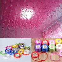 Supplies Wedding Decoration Silk Balloon Ribbon Roll Curling Gifts Wrapping