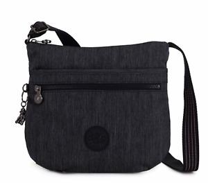 Kipling Medium Crossbody Bag ARTO Shoulder Bag ACTIVE DENIM Fall 2020 RRP £73