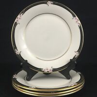Set of 4 VTG Bread and Butter Plates by Royal Doulton Vogue Enchantment TC1156