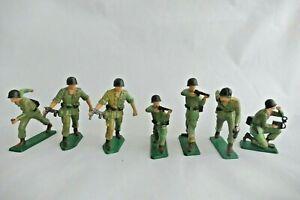 Starlux plastique Lot soldats américains 2e guerre mondiale - US soldiers WWII