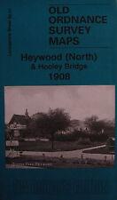MAP OF HEYWOOD (NORTH) & HOOLEY BRIDGE 1908